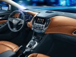 2016 Chevrolet Cruze: Interior Photos Revealed For China Launch
