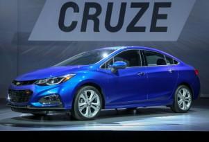 2016 Chevrolet Cruze unveiling, Detroit, June 2015