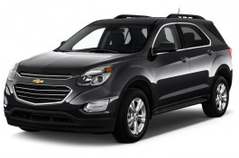 2016 Chevrolet Equinox FWD 4-door LT Angular Front Exterior View