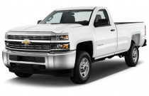 "2016 Chevrolet Silverado 2500HD 2WD Reg Cab 133.6"" Work Truck Angular Front Exterior View"