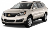 2016 Chevrolet Traverse FWD 4-door LT w/1LT Angular Front Exterior View