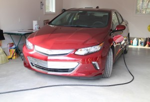 2016 Chevrolet Volt, Catskill Mountains, NY, Dec 2015