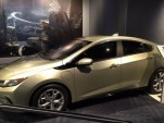 2016 Chevrolet Volt on display at Disney World Test Track exhibit  [photo tweeted by 'Schmoofy']