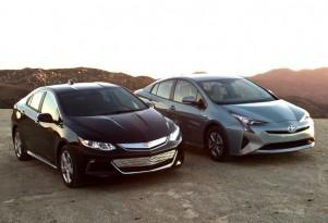 Chevrolet Volt Vs. Toyota Prius: Compare Cars