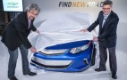 2016 Chevy Volt: Front Styling Teaser Photos, Charging Details Released