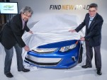 2016 Chevrolet Volt sneak peek for owners, Los Angeles, Nov 2014