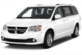 2016 Dodge Grand Caravan 4-door Wagon SXT Plus Angular Front Exterior View