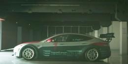 2016 Electric GT Championship Tesla Model S race car