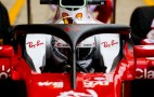 Ferrari tests updated Halo cockpit protection system at British Grand Prix