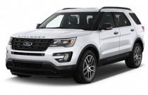 2016 Ford Explorer 4WD 4-door Sport Angular Front Exterior View