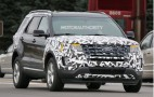 2016 Ford Explorer Spy Shots