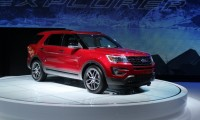 2016 Ford Explorer  -  2014 Los Angeles Auto Show live photos