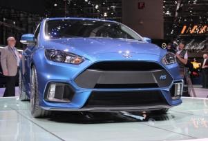 2016 Ford Focus RS  -  2015 Geneva Motor Show live photos