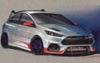 Ford reveals first of its SEMA-bound 2016 Focus RS hatchbacks