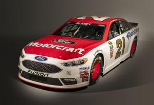 2016 Ford Fusion NASCAR Sprint Cup race car