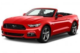 2016 Ford Mustang 2-door Convertible GT Premium Angular Front Exterior View
