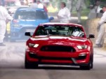2016 Ford Mustang Shelby GT350R And Focus RS at the 2015 Goodwood Festival of Speed