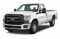 "2016 Ford Super Duty F-250 SRW 2WD Reg Cab 137"" XL Angular Front Exterior View"