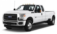 """2016 Ford Super Duty F-350 DRW 4WD SuperCab 158"""" XL Angular Front Exterior View"""