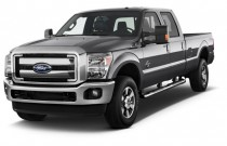 "2016 Ford Super Duty F-350 SRW 4WD Crew Cab 156"" Lariat Angular Front Exterior View"