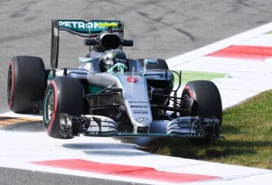 Mercedes AMG's Nico Rosberg at the 2016 Formula One Italian Grand Prix