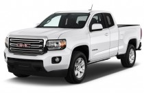 "2016 GMC Canyon 2WD Ext Cab 128.3"" SLE Angular Front Exterior View"