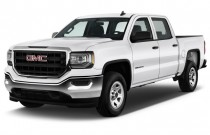"2016 GMC Sierra 1500 2WD Crew Cab 143.5"" Angular Front Exterior View"