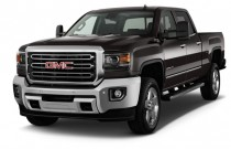 "2016 GMC Sierra 2500HD 2WD Crew Cab 153.7"" SLT Angular Front Exterior View"