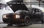 Hennessey straps 1,032-hp twin-turbo Dodge Challenger SRT Hellcat to the dyno