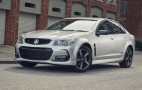 2016 Holden Commodore ups style with Black Edition trim