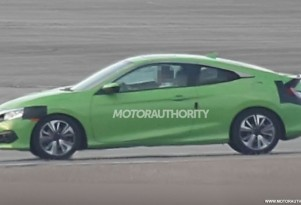 2016 Honda Civic Coupe spy shots - Image via S. Baldauf/SB-Medien