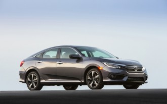 Affordable Safety: 2016 Honda Civic Earns IIHS Top Safety Pick+ Rating