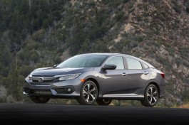 2016 Honda Civic Sedan (Touring)
