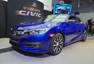 2016 Honda Civic Coupe, 2015 Los Angeles Auto Show