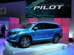 2016 Honda Pilot  -  2015 Chicago Auto Show Live Photos