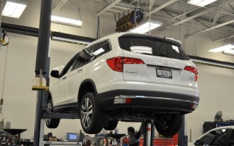 2016 Honda Pilot long-term road test: the first service stop