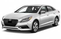 2016 Hyundai Sonata Plug-In Hybrid 4-door Sedan Limited Angular Front Exterior View