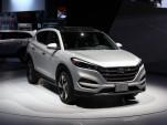 2016 Hyundai Tucson  -  2015 NY Auto Show live photos