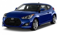 2016 Hyundai Veloster 3dr Coupe Auto Turbo Angular Front Exterior View