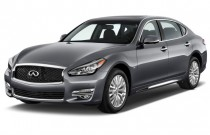 2016 Infiniti Q70L 4-door Sedan V6 RWD Angular Front Exterior View