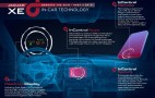 Jaguar Details New XE Sedan's Infotainment System: Video