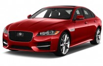 2016 Jaguar XF 4-door Sedan 35t R-Sport RWD Angular Front Exterior View