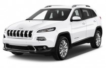 2016 Jeep Cherokee FWD 4-door Limited Angular Front Exterior View