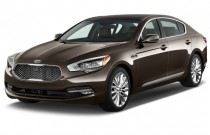 2016 Kia K900 4-door Sedan V8 Luxury Angular Front Exterior View