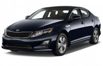 2016 Kia Optima Hybrid 4-door Sedan EX Angular Front Exterior View