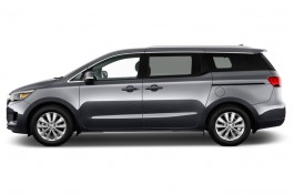 2016 Kia Sedona 4-door Wagon EX Side Exterior View