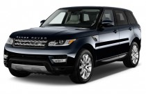 2016 Land Rover Range Rover Sport 4WD 4-door V6 HSE Angular Front Exterior View