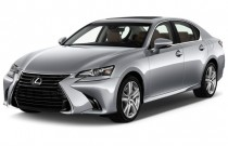 2016 Lexus GS 200t 4-door Sedan RWD Angular Front Exterior View