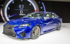 2016 Lexus GS F Live Photos & Video: 2015 Detroit Auto Show