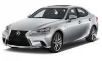 2016 Lexus IS 350 4-door Sedan RWD Angular Front Exterior View